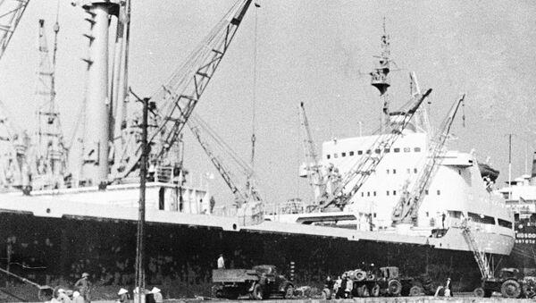 Tàu Liên Xô trong cảng Hải Phòng - Sputnik Việt Nam