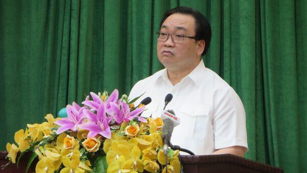 Bí thư Thành ủy Hà Nội Hoàng Trung Hải - Sputnik Việt Nam
