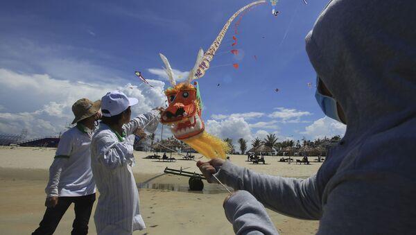 Tại Festival diều ở tỉnh Quảng Nam - Sputnik Việt Nam