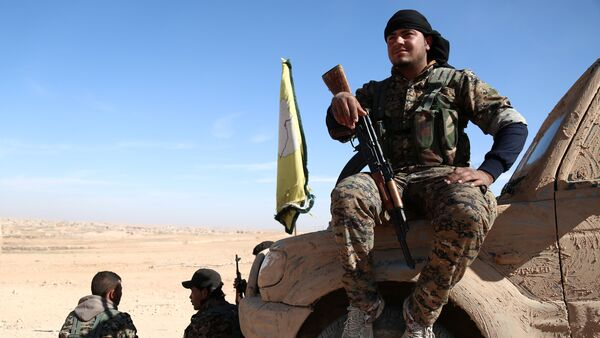 Lực lượng dân chủ Syria (SDF) - Sputnik Việt Nam
