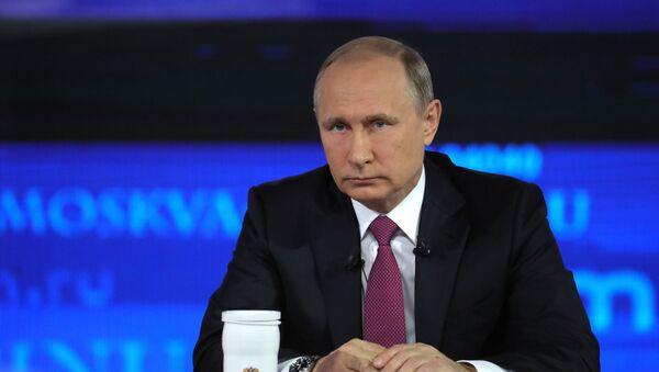 «Giao lưu trực tiếp» với Tổng thống Vladimir Putin - 2017 - Sputnik Việt Nam