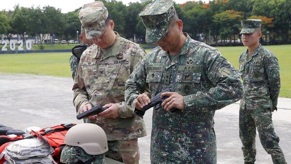 Quân nhân Mỹ và Philippines - Sputnik Việt Nam