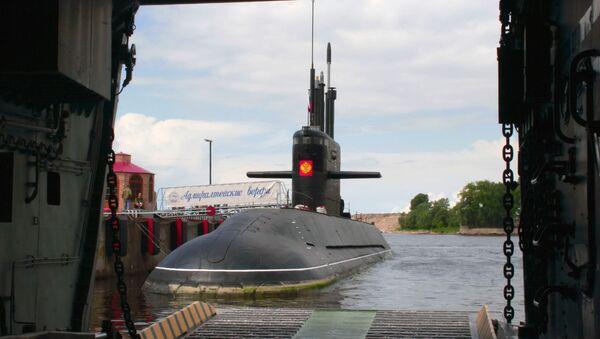 Open-water trials of the diesel submarine St. Petersburg during project Lada - Sputnik Việt Nam