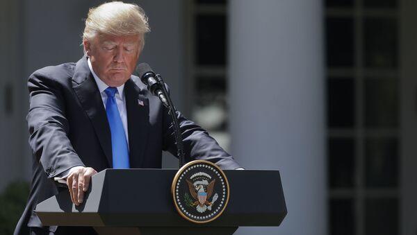 Президент США Дональд Трамп - Sputnik Việt Nam