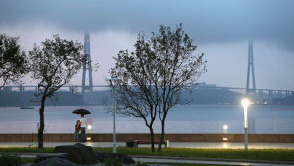 Cây cầu trên Đảo Nga, Vladivostok - Sputnik Việt Nam