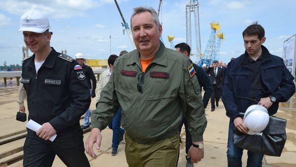 """Chuyến thăm làm việc của ông Dmitry Rogozin đến sân bay vũ trụ """"Vostok"""" khu vực Amur - Sputnik Việt Nam"""