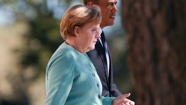 Angela Merkel và Barack Obama - Sputnik Việt Nam