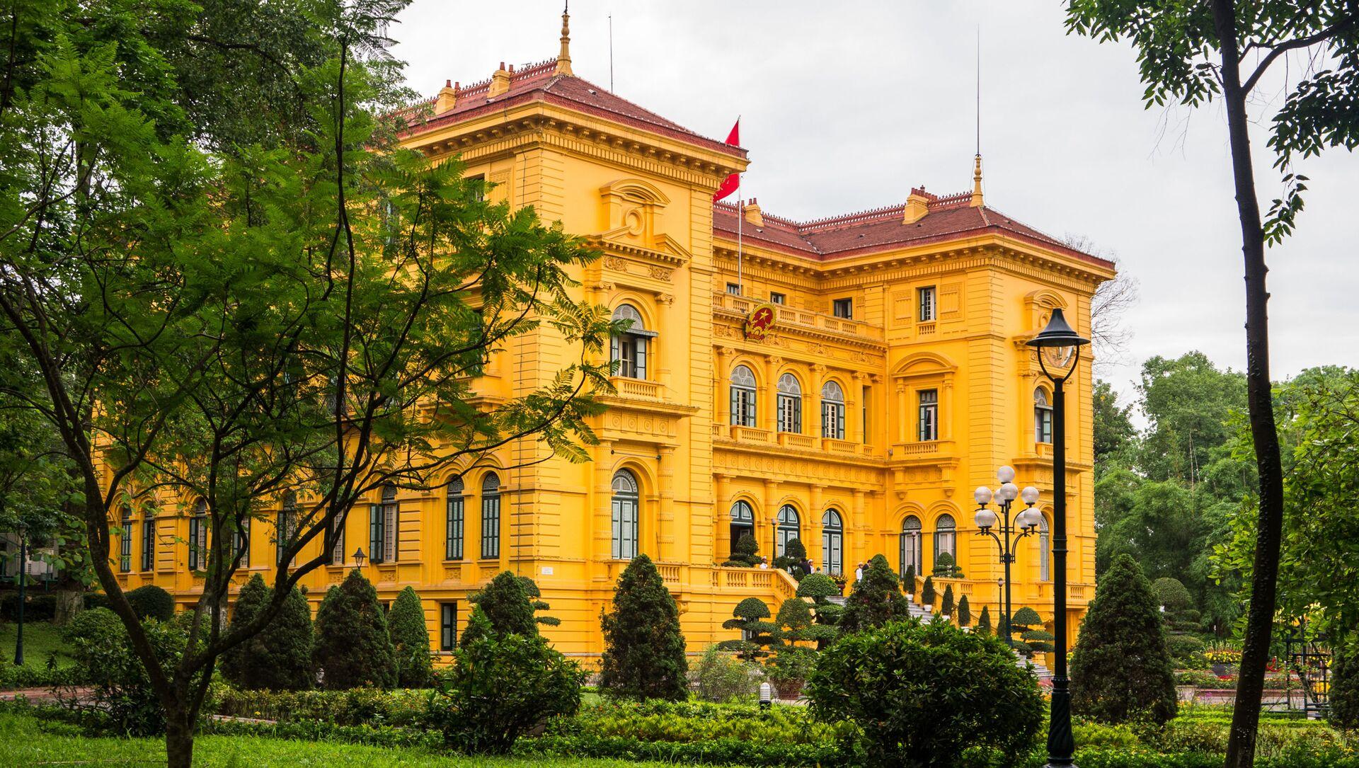 Phủ Chủ tịch tại Hà Nội, Việt Nam  - Sputnik Việt Nam, 1920, 22.03.2021