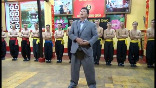 Võ sư Huỳnh Tuấn Kiệt, chưởng môn Nam Huỳnh Đạo. - Sputnik Việt Nam