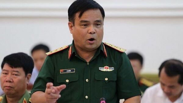 Thứ trưởng Bộ Quốc phòng Lê Chiêm cho biết chủ trương của Bộ Quốc phòng là quân đội sẽ không làm kinh tế mà chỉ tập trung xây dựng quân đội vững mạnh, chính quy, tinh nhuệ - Sputnik Việt Nam