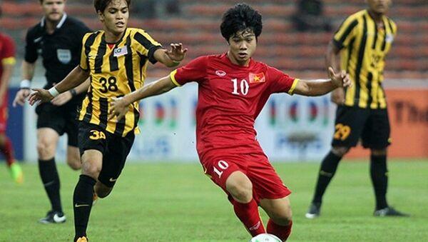 U22 Việt Nam nguy cơ rơi vào bảng đấu khó tại SEA Games 2017. - Sputnik Việt Nam