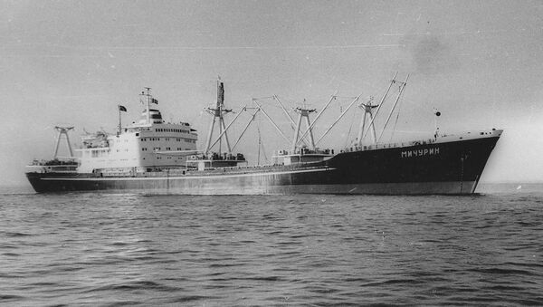 tàu Liên Xô Michurin - Sputnik Việt Nam