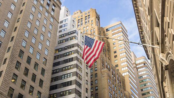 Уолл-стрит в Нью-Йорке - Sputnik Việt Nam