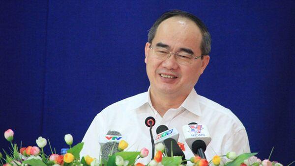 Bí thư Nguyễn Thiện Nhân trả lời cử tri - Sputnik Việt Nam