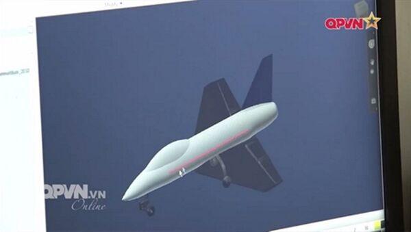 Thiết kế của nguyên mẫu UAV-03 sử dụng động cơ phản lực - Sputnik Việt Nam