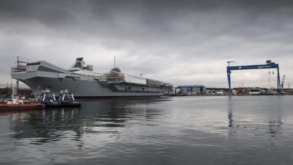 """Tàu sân bay mới của Hải quân Hoàng gia """"Queen Elizabeth"""" - Sputnik Việt Nam"""