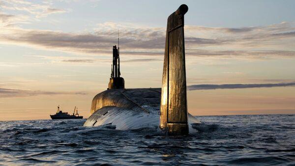 Nuclear submarine (NS) Yuri Dolgoruky - Sputnik Việt Nam