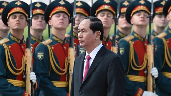 Chủ tịch Việt Nam Trần Đại Quang lần đầu tiên thực hiện chuyến thăm LB Nga - Sputnik Việt Nam