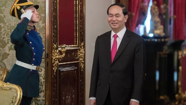 Trần Đại Quang - Sputnik Việt Nam