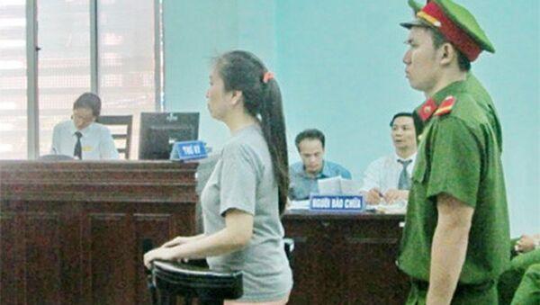 Bị cáo Nguyễn Ngọc Như Quỳnh trả lời thẩm vấn tại tòa - Sputnik Việt Nam