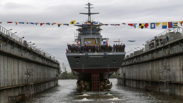 Tàu Gremyashchy đã được hạ thủy ở St Petersburg - Sputnik Việt Nam