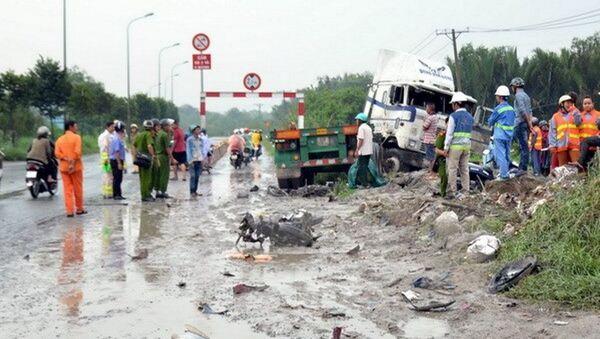 Hai vụ tai nạn xảy ra lúc sáng sớm, 3 người tử vong - Sputnik Việt Nam