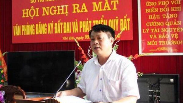 Ông Phạm Sỹ Quý- Giám đốc Sở Tài nguyên và Môi trường Yên Bái. - Sputnik Việt Nam