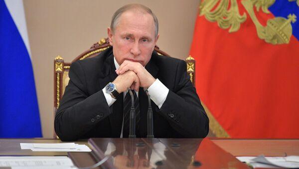 Президент РФ Владимир Путин - Sputnik Việt Nam