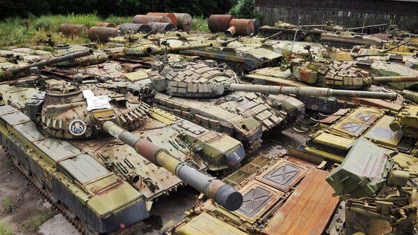 Xe tăng ở Ukraine - Sputnik Việt Nam