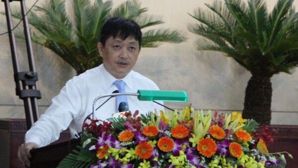 Ông Đặng Việt Dũng - Phó Chủ tịch thường trực UBND TP kiêm Trưởng ban Tuyên giáo Thành ủy Đà Nẵng. - Sputnik Việt Nam