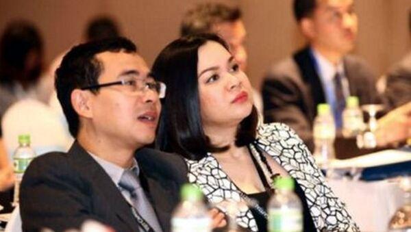 Ông Tô Hải và bà Nguyễn Thanh Phượng. - Sputnik Việt Nam