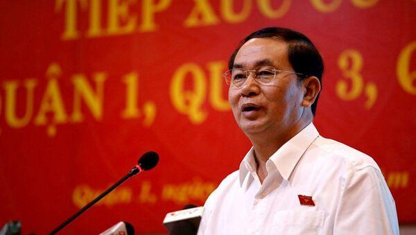 Chủ tịch nước Trần Đại Quang - Sputnik Việt Nam