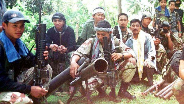 Phiến quân nhóm khủng bố Hồi giáo Philippines Abu Sayyaf - Sputnik Việt Nam