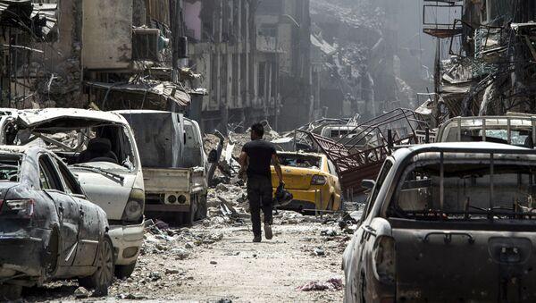 Lại Mosul. Trong khu vực thành cổ vừa giải phóng khỏi IS. Trận đánh vừa kết thúc ... - Sputnik Việt Nam