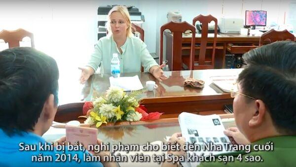 Vợ trùm ma túy Nga trốn truy nã trong vỏ bọc nhân viên spa - Sputnik Việt Nam