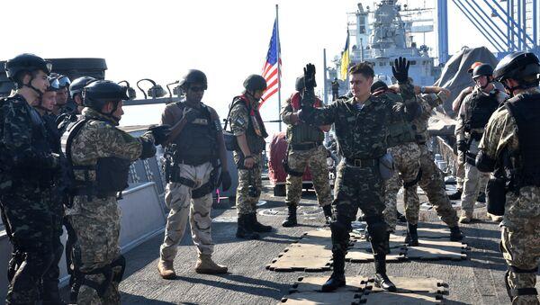 Украинско-американские военные учения Sea Breeze-2015 в Черном море - Sputnik Việt Nam