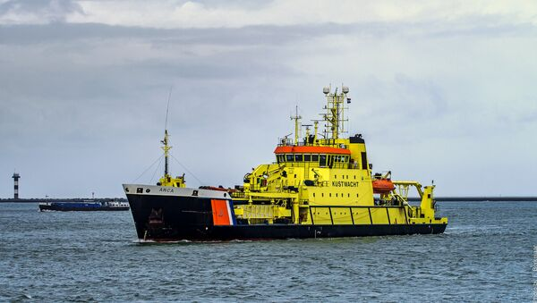 Coast guard ship, port of Rotterdam, Netherlands - Sputnik Việt Nam