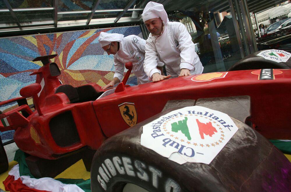Sản xuất sô cô la Ferrari tại Ý