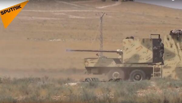 Quân đội Syria tiếp cận khu định cư Akỉbat ở Đông Hama - Sputnik Việt Nam