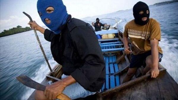 Các tay súng của nhóm khủng bố Abu Sayyaf - Sputnik Việt Nam