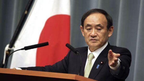 Tổng thư ký Nội các Nhật Bản Ёsihide Suga - Sputnik Việt Nam