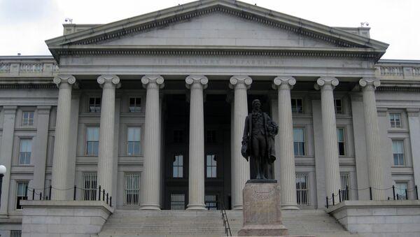 Bộ Tài chính Mỹ ở Washington, DC - Sputnik Việt Nam