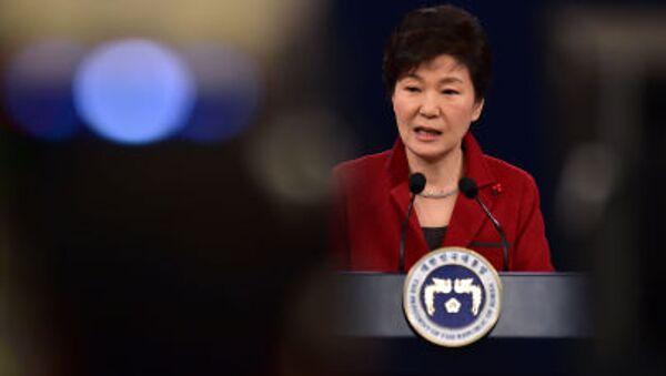 Tổng thống Hàn Quốc Park Geun-hye - Sputnik Việt Nam