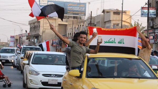 Mosul mừng chiến thắng, thành phố được giải phóng khỏi Daesh - Sputnik Việt Nam