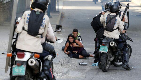 Venezuela, Caracas. Cuộc biểu tình kế tiếp chống Chính phủ ... - Sputnik Việt Nam