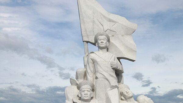 Khánh thành tượng đài tưởng niệm chiến sĩ Gạc Ma - Sputnik Việt Nam