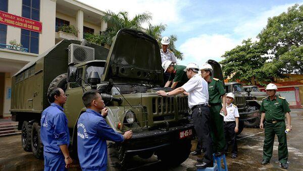 Hội đồng nghiệm thu kiểm tra xe - Sputnik Việt Nam