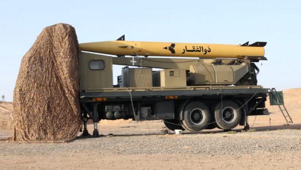 Tên lửa của Iran Zulfiqar - Sputnik Việt Nam