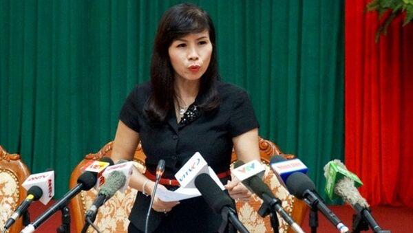 Bà Lê Mai Trang, Phó chủ tịch UBND quận Thanh Xuân. - Sputnik Việt Nam