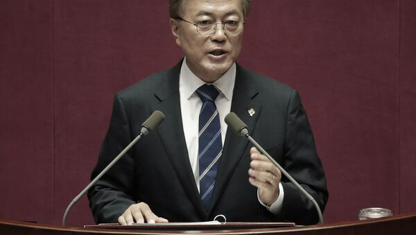 Moon Jae-in  - Sputnik Việt Nam